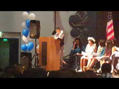 Hogan Middle school Class of 2016 (Gerell Castro's  speech)