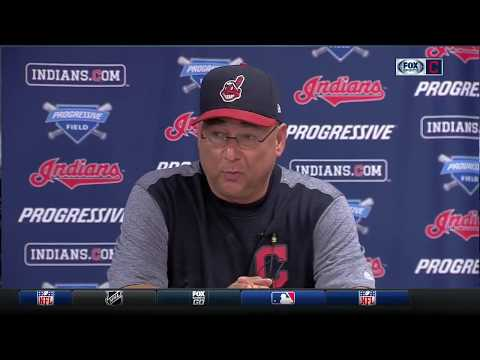 Cleveland Indians manager Terry Francona offers latest on Miller and Santana, recaps emotional win