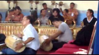 Polisi Bermain Alat Musik Tradisional Indonesia- Denpasar Bali