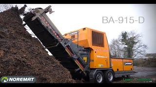 BA-915D | Broyage de déchets verts
