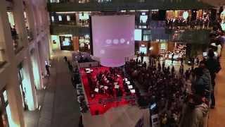 平成26年10月26日、JPタワー「KITTE」でオーケストラ・アンサンブル金沢...