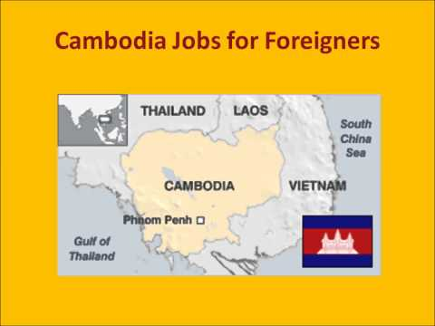Cambodia Jobs for Foreigners