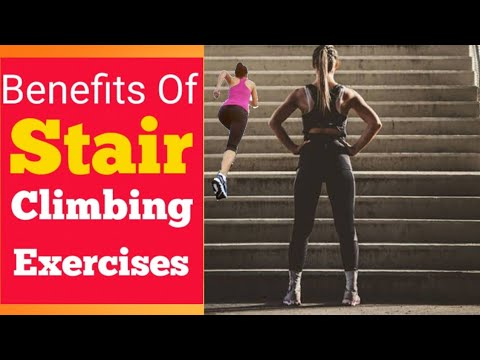 Benefits Of doing Stair Climbing Exercises For Weight Loss.