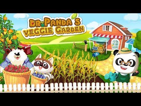 Dr. Panda Veggie Garden 🌻 Vegetables Gardening Game App for Kids