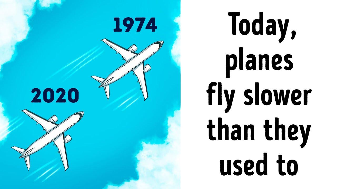 La seule raison pour laquelle les avions modernes sont meilleurs que les anciens + vidéo