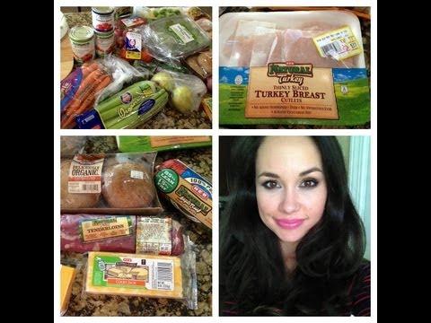 *NEW! Groceries & Meal Plan This Week