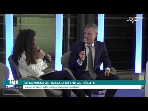 """""""Le bonheur au travail : mythe ou réalité ?"""" 5/7 (Luxembourg Sustainability Forum 2017)"""