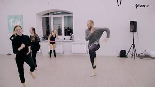 Урок движения. Экспериментальный танец. Режиссер-хореограф Мержоев Батыр (г. Краснодар)