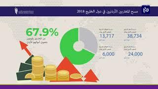 المغتربون الأردنيون في دول الخليج يحولون 35% فقط من دخلهم السنوي إلى المملكة - (4-7-2018)