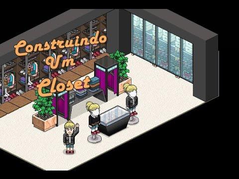 Construindo Um Closet Vers 227 O Habbo Youtube