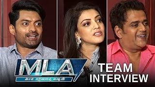 MLA Movie Team Interview | Kalyan Ram | Kajal Agarwal | TFPC