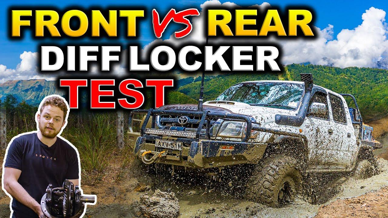 FRONT LOCKER vs REAR LOCKER vs TWIN LOCKED COMPARISON! + AIR vs AUTO vs E LOCKER – Shock answer!