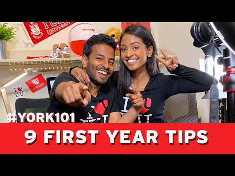 9 Things To Know Before First Year At York   #YORK101