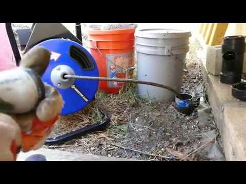 Electric Drain Snakes Home Depot Rental vs  Harbor Freight Tools HFT Item 68285, 61856