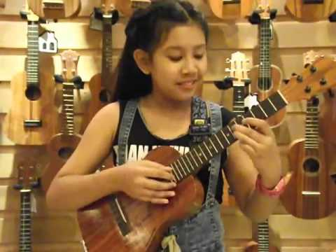 Imagine : Ukulele Cover By Sydney