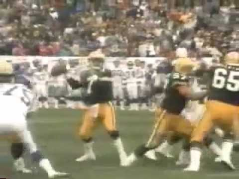 Packers and Raiders Highlights 1989