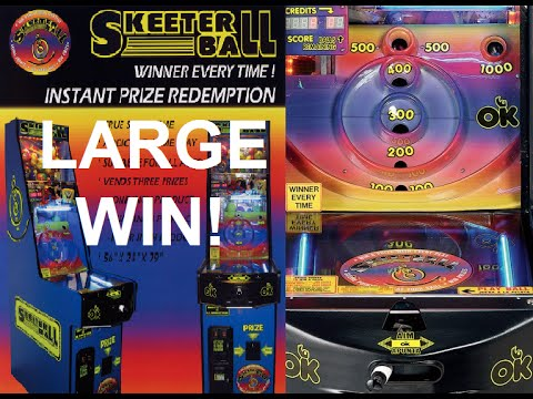 Free verse skee ball prizes to win