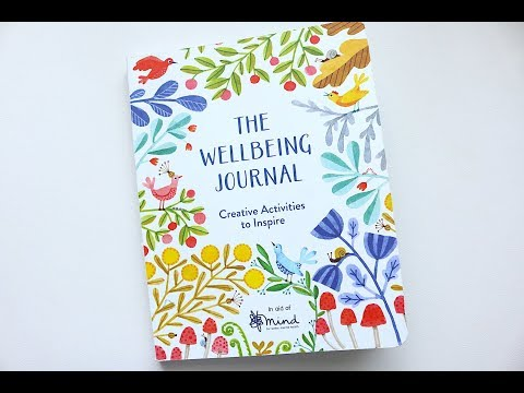 The Wellbeing Journal: Creative Activities To Inspire | Book Review