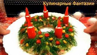 Необыкновенно Вкусный Салат с Крабовыми палочками!