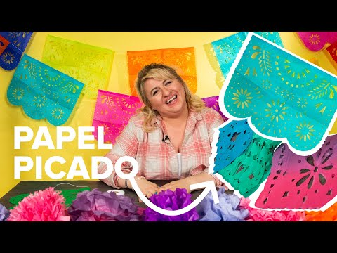 DIY Papel Picado (Mexican Perforated Paper)
