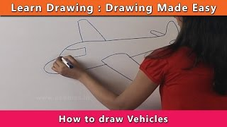 How to draw Vehicles | Learn Drawing For Kids | Learn Drawing Step By Step For Children