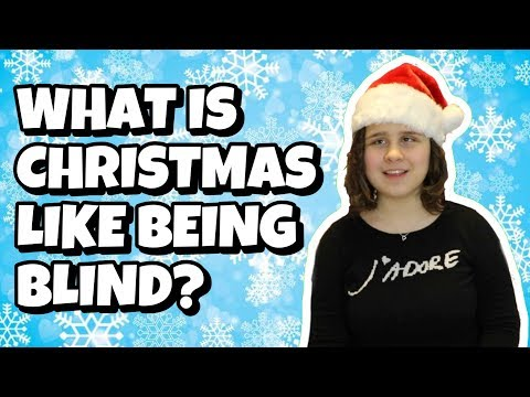 What Is Christmas Like Being Blind? | Convos With Julia (Ep.8)