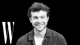 Alden Ehrenreich on How He Got His Unusual Name and His First Kiss   Screen Tests   W Magazine