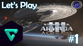 Star Trek Armada 3: A Call to Arms - Federation v Cardassian - Part 1 (1080p 60fps)