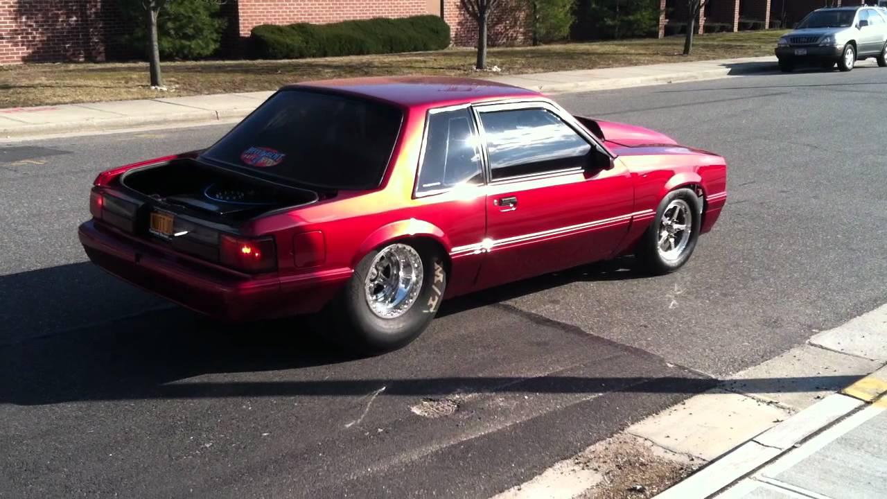 Pro Touring Fox Mustang
