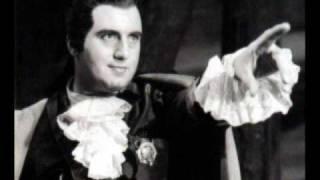 """""""Alla vita che t'arride"""" Ettore Bastianini, studio recording DG, 1961."""