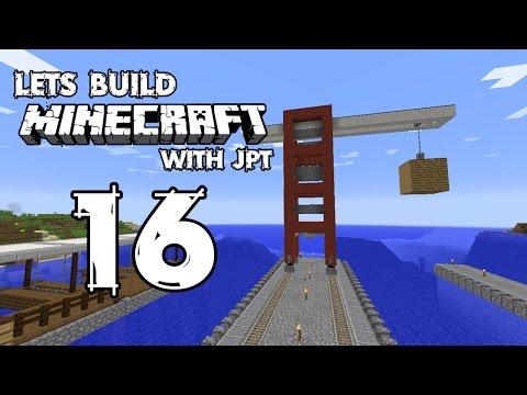 Let's Build Minecraft - Ep16 - Dock Crane