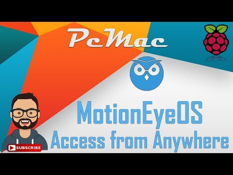 Access MotionEye from Anywhere : Port Forwarding - YouTube