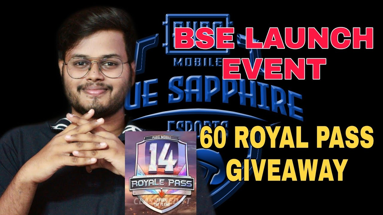 60 ROYAL PASS GIVEAWAY on BSE Launch Event