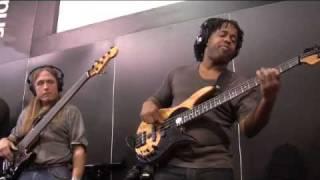 PreSonus NAMM 09- Victor Wooten, Steve Bailey & David