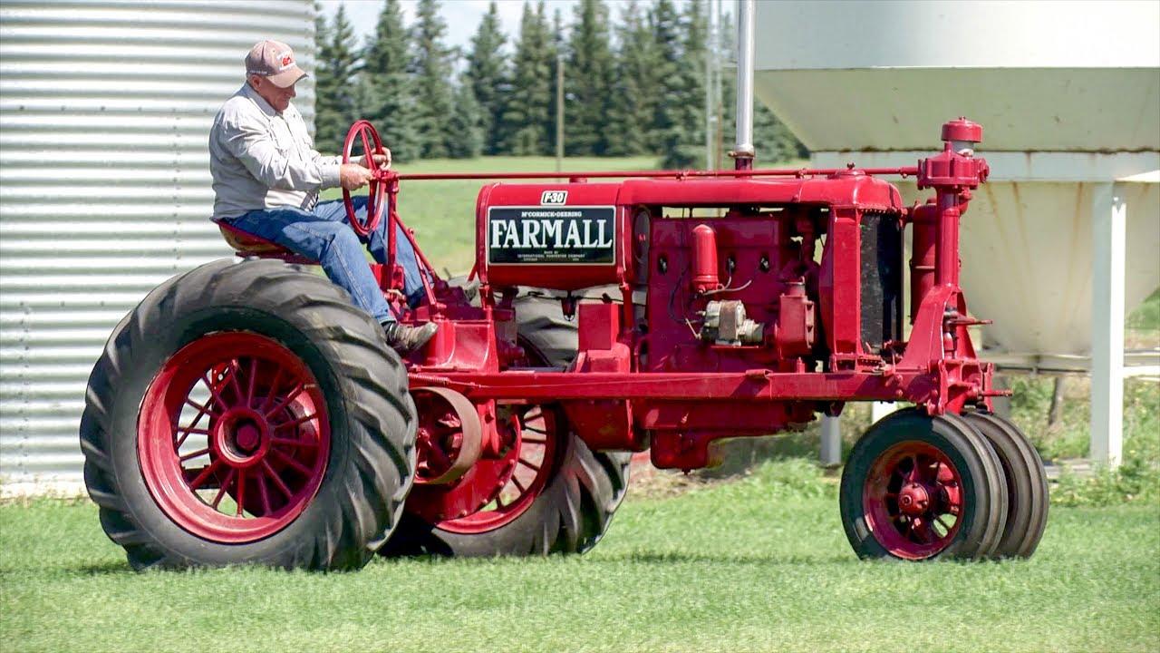 1930's Farmall F-30, 1927 Farmall Regular, 1946 Farmall A, 1948 Farmall Cub  & 1949 Farmall Super C