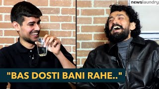 Dhruv Rathee Newslaundry Interview with Abhinandan (Teaser)