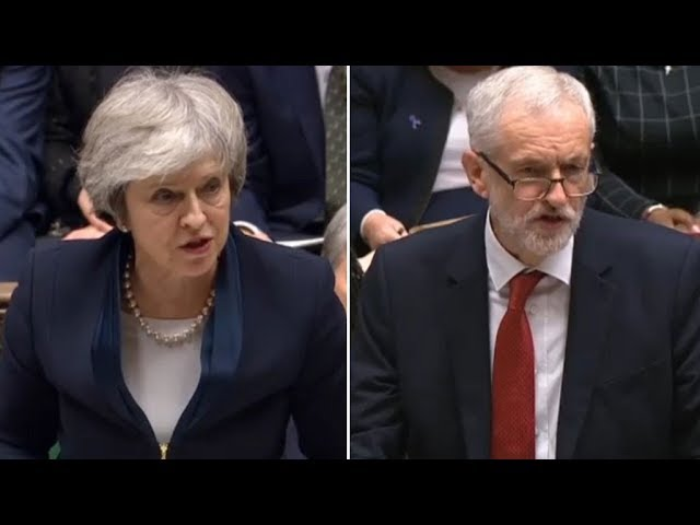 Brexit vote result: Theresa May's deal rejected as Jeremy Corbyn tables vote of no confidenc