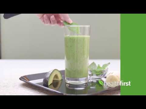 Watch: Avo-Banana Spinach Smoothie – Healthfirst Healthy Living