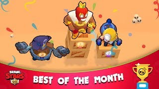 BEST OF THE MONTH [p1] 🏆 Brawl Stars 2019 Funny Moments, Fails, Glitches compilation