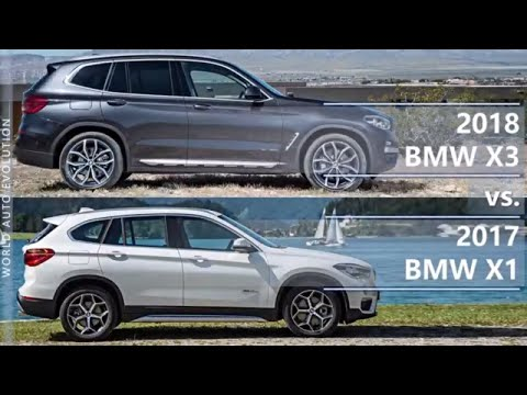 2018 BMW X3 vs 2017 BMW X1 - What's the difference? (technical comparison)
