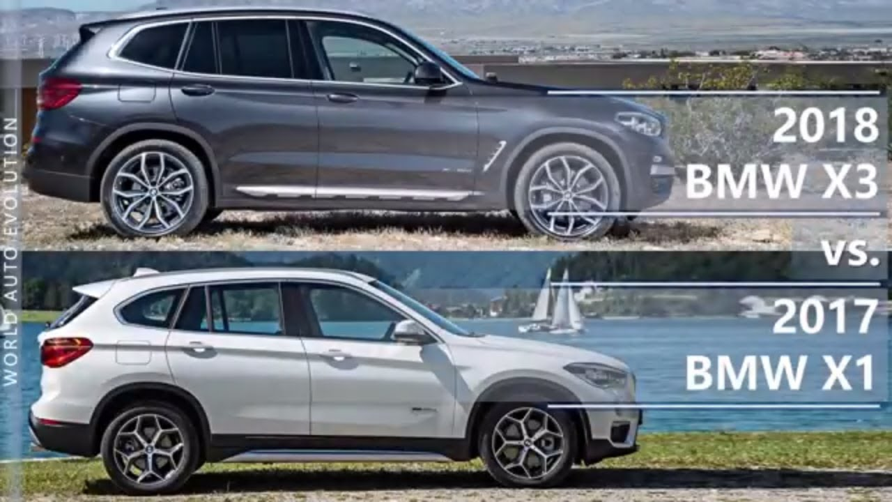 2018 bmw x3 vs 2017 bmw x1 what 39 s the difference. Black Bedroom Furniture Sets. Home Design Ideas