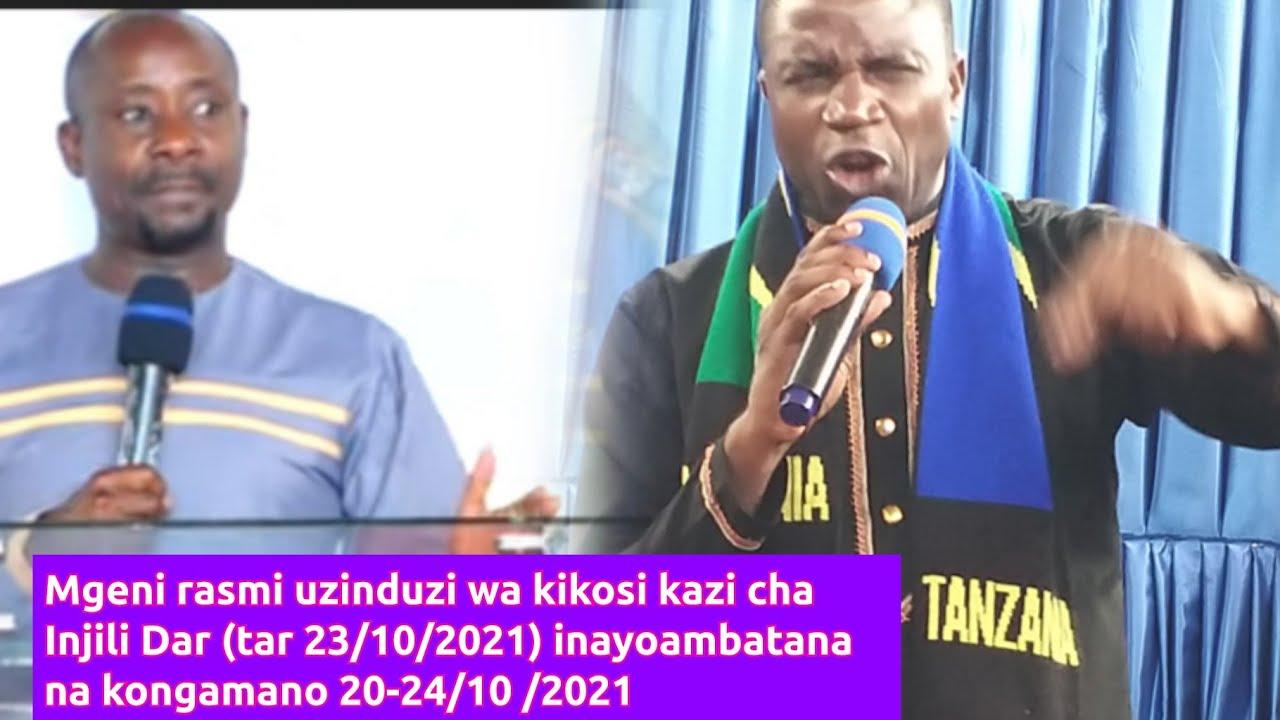 Download Gwajima na Mbarikiwa uso kwa uso katika uzinduzi rasmi wa kikosi kazi cha injili DAR.