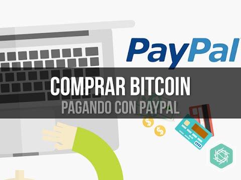 3 Paginas Para Comprar Bitcoin Pagando Con PayPal