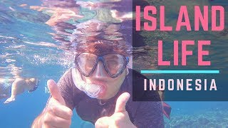 Snorkeling Coral Reefs and Sleeping on a Deserted Island | Indonesia Boat Tour