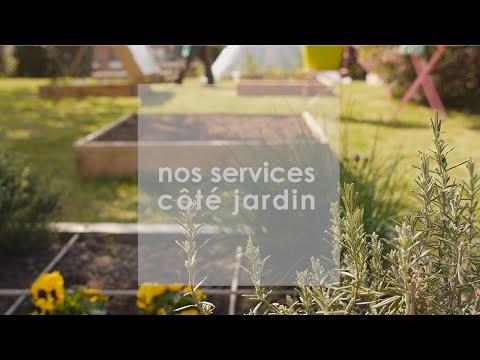 Les services Maison et Services : Côté JARDIN