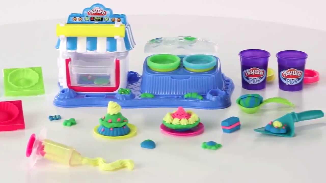 Игровой набор «Двойные десерты» Play-Doh (Плэй до) A5013 - YouTube