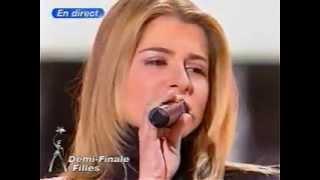 """""""J'irais ou tu iras"""" - Julie Zenatti et Emma Daumas / 13 Décembre 2002, Star Academy 2"""