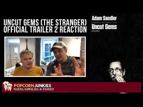 Uncut Gems (THE STRANGER) Official Trailer 2 – The Popcorn Junkies REACTION