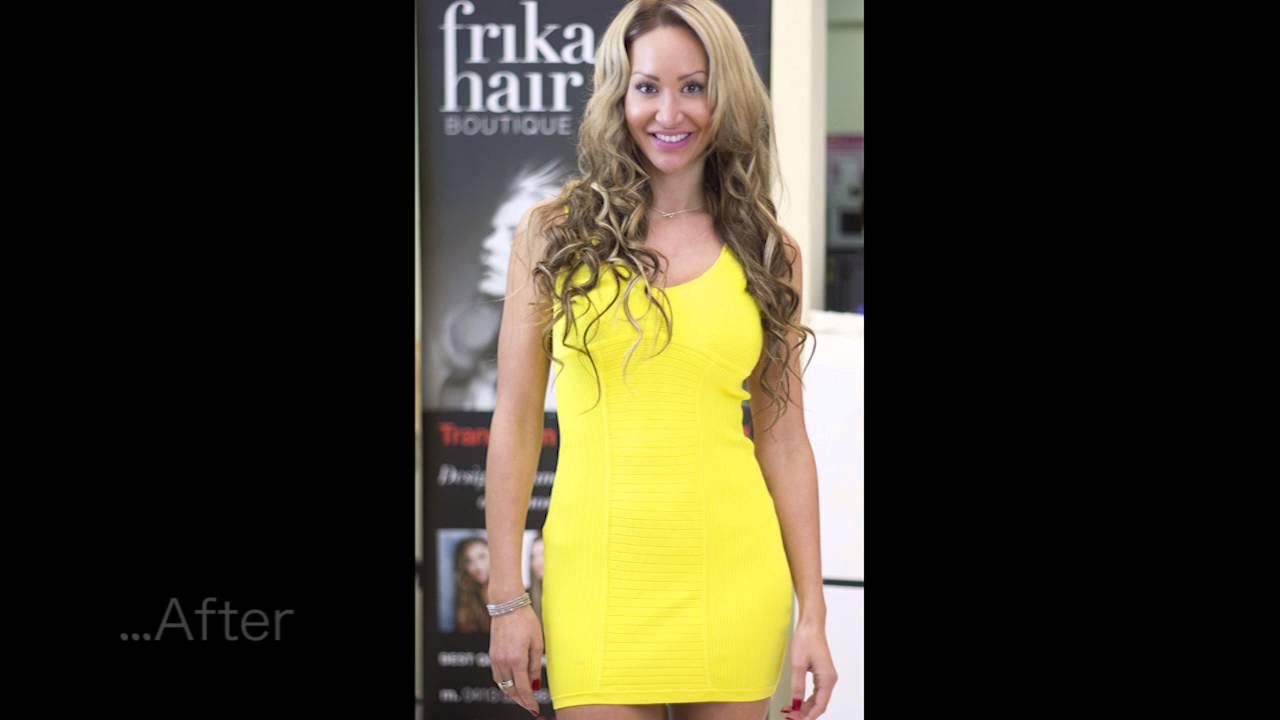 Hair Extensions Frika Hair Youtube