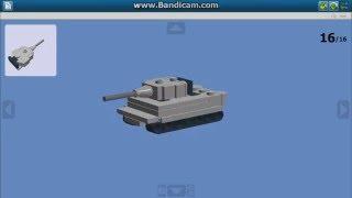 Как сделать мини танк из Lego [Тигр] /  How to make a mini tank from Lego [Tiger](Всем привет, в сегодняшнем видео я хочу вам показать как сделать мини танк Тигр из лего. Детали которые нужн..., 2015-12-24T16:56:29.000Z)